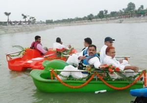 脚踏船日常的清洁维护